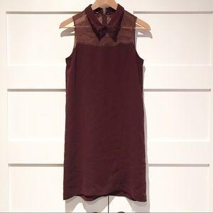 The Kooples dress lace collar sleeveless